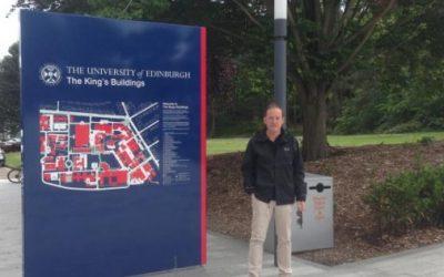 Estancia del Profesor José María Monteagudo en Universidad de Edimburgo