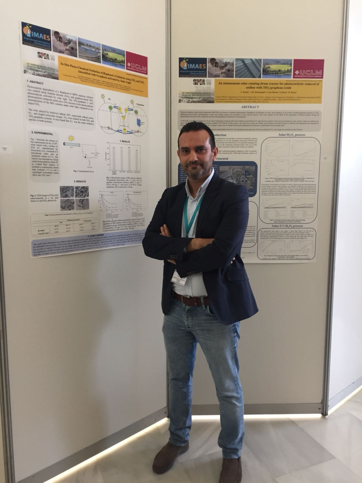 El Profesor Antonio Durán (Grupo IMAES) asiste al European meeting on Solar Chemistry and Photocatalysis: Environmental Applications (SPEA10)