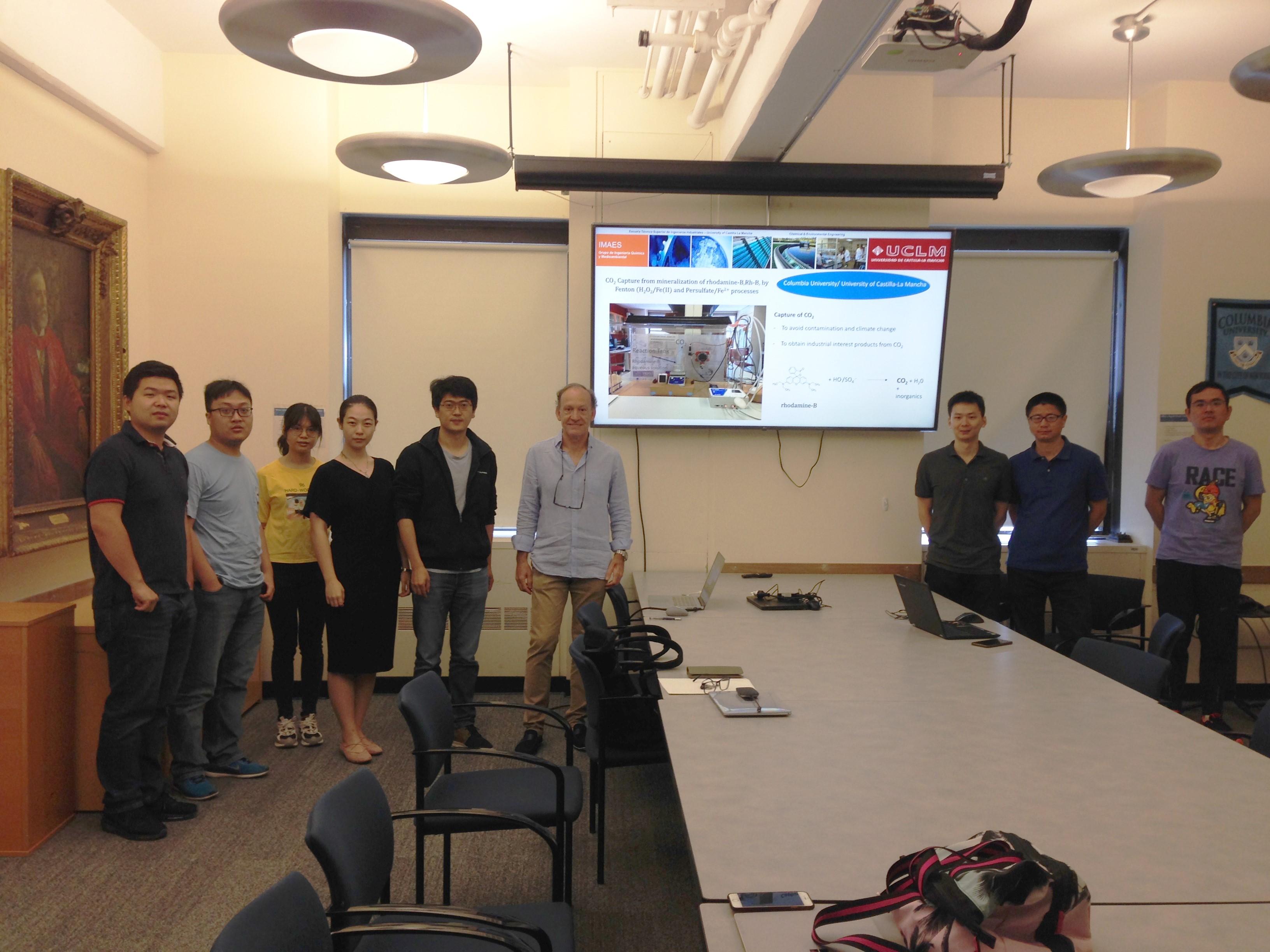 El profesor Monteagudo, del grupo IMAES de la UCLM, realiza una estancia de investigación en la universidad Columbia de E.E.U.U.